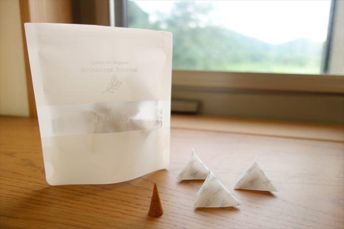 サンダルウッド(白壇)&ホワイトセージ インセンス
